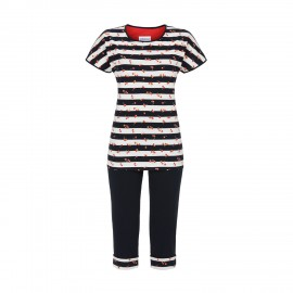 Short Sleeved Pajamas Bermuda, Ringella 9211203/240