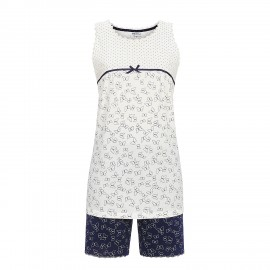 Sleeveless Pajamas Shorts, Ringella 9261314/101