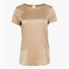 Silked Short Sleeves Top, Cortona Nude, Max Mara CORTONA-017