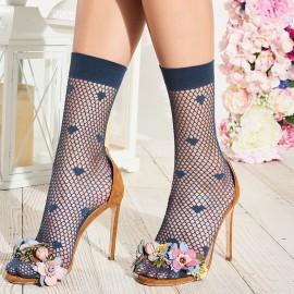 Fancy Ankle Socks 40 Den, Dandelion, Trasparenze DANDELION-JEANS