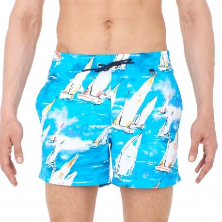 Shorts Swimsuit, Voile, Hom 401275-00BI