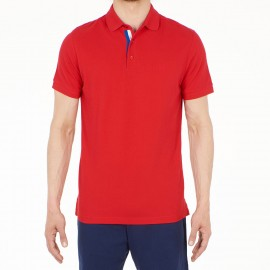 Short Sleeves Polo Shirt, Louis, Hom 400454-00PA