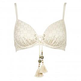 Top Swimsuit, Almondmilk, Watercult 7207-055