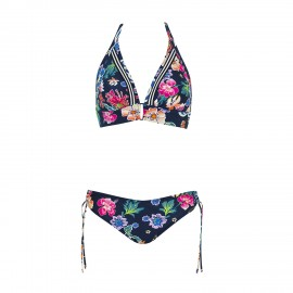 2 Pieces Swimsuit, Dark Flower, Sunflair 2124819