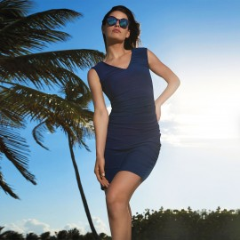 Sleeveless Dress Neck, City & Beach, Sunflair 2335618