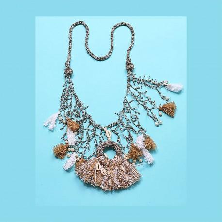 Necklace, 100% Nylon, Antica Sartoria 2019D2005