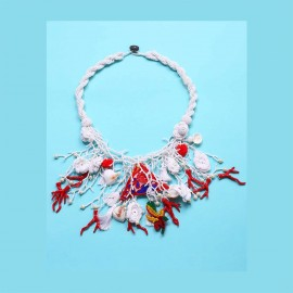 Necklace, 100% Nylon, Antica Sartoria 2019S527