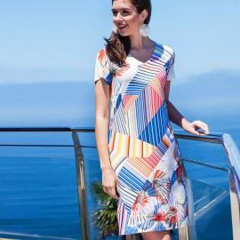 Short Sleeves Dress , Egatex 191530
