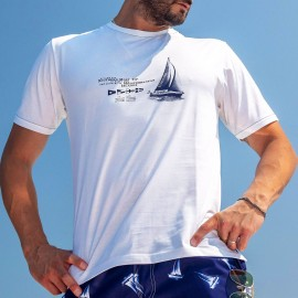 Round Neck T-Shirt Short Sleeves, Sporting, Timonier M029-001
