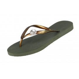 Sandals Flip Flops, Original Switch, Uzurii ORIG-SWITCH-GREEN