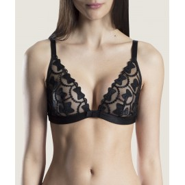 Soutien-Gorge Triangle, Bow Collection, Aubade OC10-SOIR