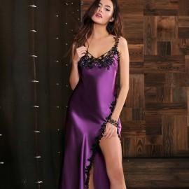 Robe Longue, Glycine, Marjolaine 3GLY3002-8304