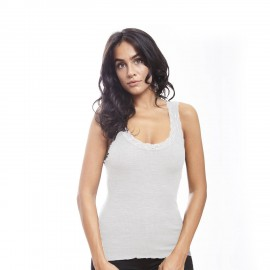 Wool and Slick, Sleeveless Top Leavers, Oscalito 3410-012