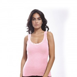 Wool and Slick, Sleeveless Top Leavers, Oscalito 3410-632