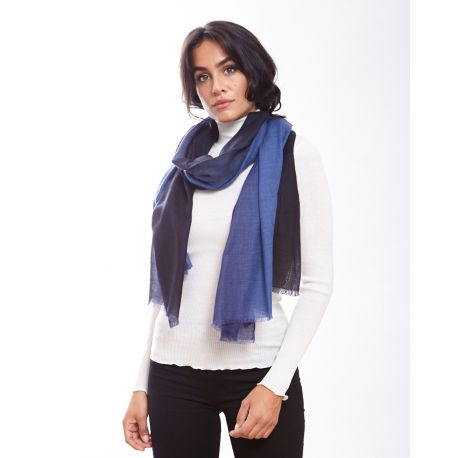Scarf Wool & Silk Flat Chantilly, Oscalito 8999