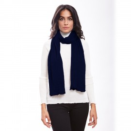 Pleated Scarf, Wool & Silk, Oscalito 3435_474