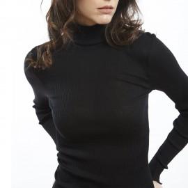 Long Sleeve Turtleneck, 70% Wool 30% Silk, Oscalito 9516-020
