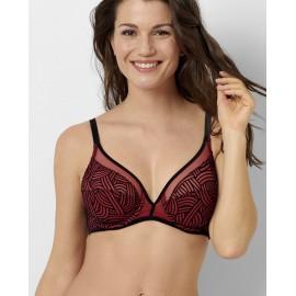 Soutien-Gorge à Armature, Couture Rouge Tibetain, Sans Complexe 79AAD84-HCT