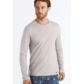 Long Sleeve Tee-Shirt, Living Shirts, Hanro, 075053-1861