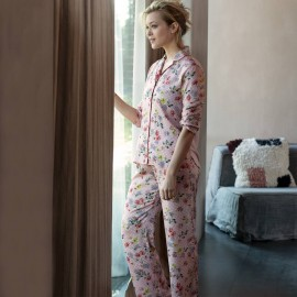 Long sleeve pajamas, Suzanne Buvard, Le Chat SUZANNE706-7336