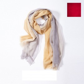 Scarf Wool & Silk Flat Chantilly, Oscalito 8999-673