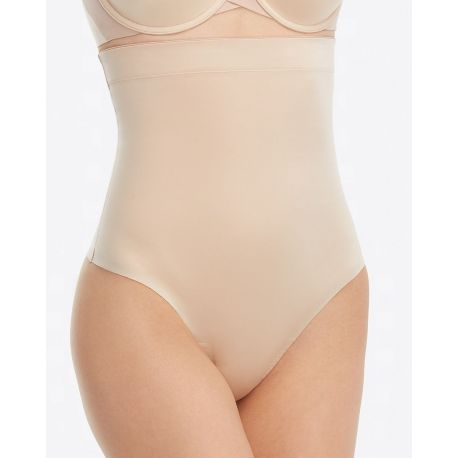 Suit Your Fancy High-Waisted Thong, Spanx 10196R-CHAMP