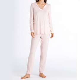 Pajamas Long Sleeves and Pants, Fenja, Hanro, 076627-1329