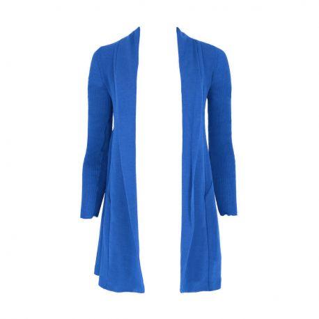 Jacket Long Sleeves Pleated / Flat 70% Wool-30% Silk, Oscalito 3463-485