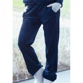 Pantalon Marine/Safran, Ambre, Le Chat AMBRE770