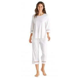 Pyjama Manches 3/4 et Pantalon, Ilona, Hanro, 076591-0102