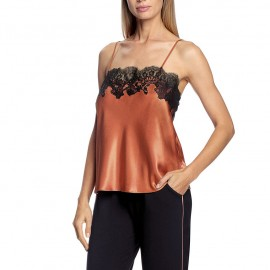 Caraco with fine lace, satin and lace, Gina, Coemi 201215-268/004