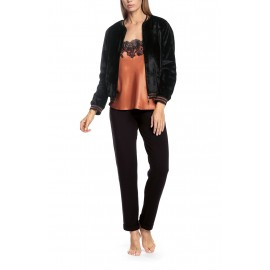 Jogging with Zipped Jacket, Gina, Coemi 201W101-SL007-004