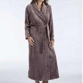 Robe d'Interieure Longue 130cm Polaire Croisée, Palazzo, Taubert 192893-114-5210
