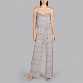 Full-length jumpsuit, Peace - Snake, Andrès Sarda 3409279-SNK