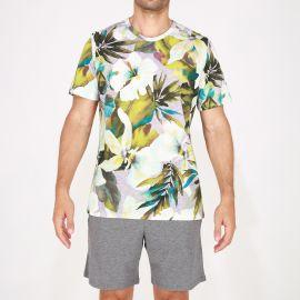 Pyjama Short 100% Coton, Savannah, Hom 401663-00ZU