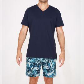 Pyjama Short 100% Coton, Safari, Hom 401681-00RA