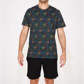 Pyjama Short 100% Coton, Dark Botanic, Hom 401740-0004