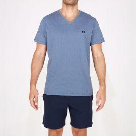 Pyjama Short 100% Coton, Calypso, Hom 401767-00RA