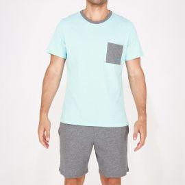 Pyjama Short 100% Coton, Captain, Hom 401472-00PF
