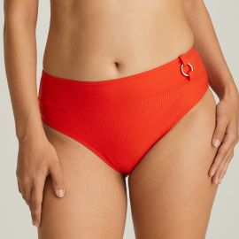 Maillot de Bain Slip Taille Haute, Sahara Poivre Rouge, Prima Donna 4006351-RPE