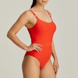 One Piece Swimsuit Molded Cups, Sahara Poivre Rouge, Prima Donna 4006338-RPE