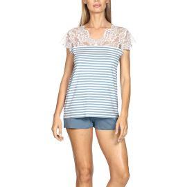 Pyjama Manches Courtes avec Short, Studio, Coemi 202C125-286/285