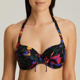 Maillot de Bain Bikini Bonnet Emboîtant, Oasis - Black Cactus, Prima Donna 4007010-BCT