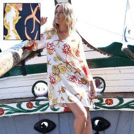 Robe Courte Manches Longues, Chiara Fiorini CF0745-11