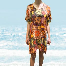 Beachwear Tunic, L'Avatar Antigel-Orange, Antigel ESA1132-OA