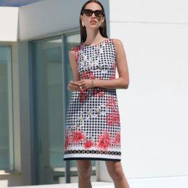 Robe Sans Manches,Couture Lily, Pierre Mantoux 20PE4185-9519