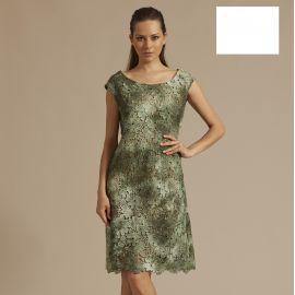 Robe avec Macramé Sans Manches 100% Coton, Oscaltio 5752-010