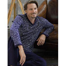 Pyjama Pantalon Imprimé , Ringella Homme 0541214-210