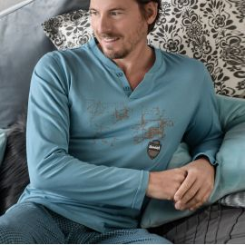 Pyjama Pantalon , Ringella Homme 0541203P-245