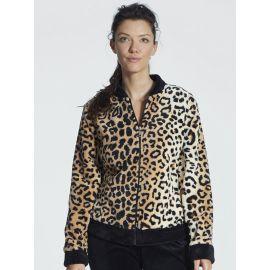 Veste Courte d'Intérieur zippée, Leopard, Taubert 000848-141